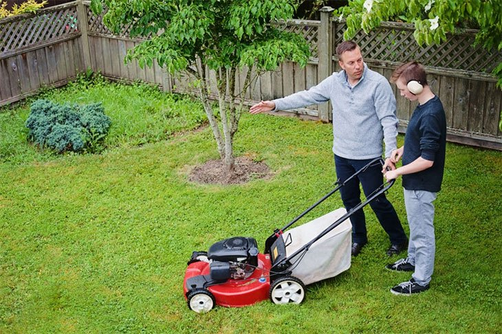 best electric lawn mower battery