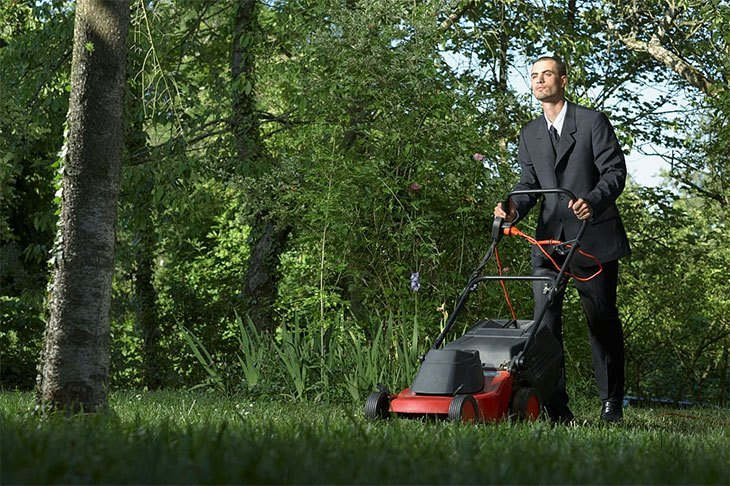 best cheapest petrol lawn mower