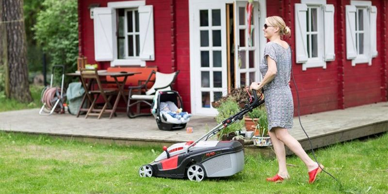 best lawn mower for small garden
