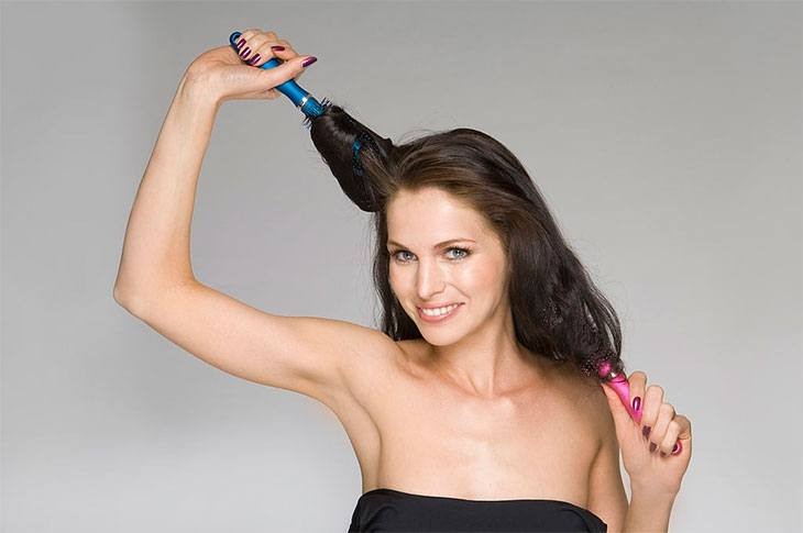 best hot air brush for short hair