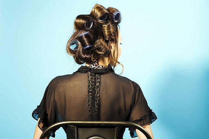 best heated rollers for thick hair