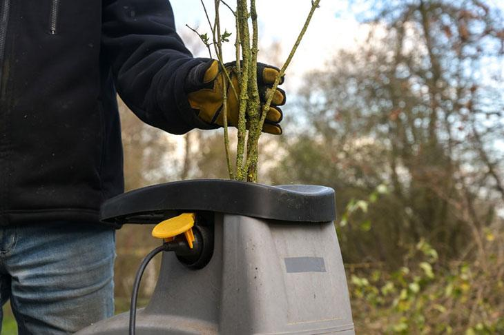 best garden shredder for green waste
