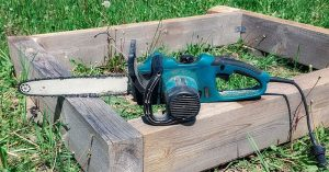 Cut With Ease With The Best Electric Chainsaw