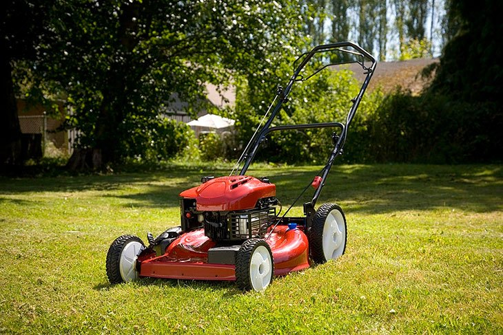 best electric lawn mower for stripes