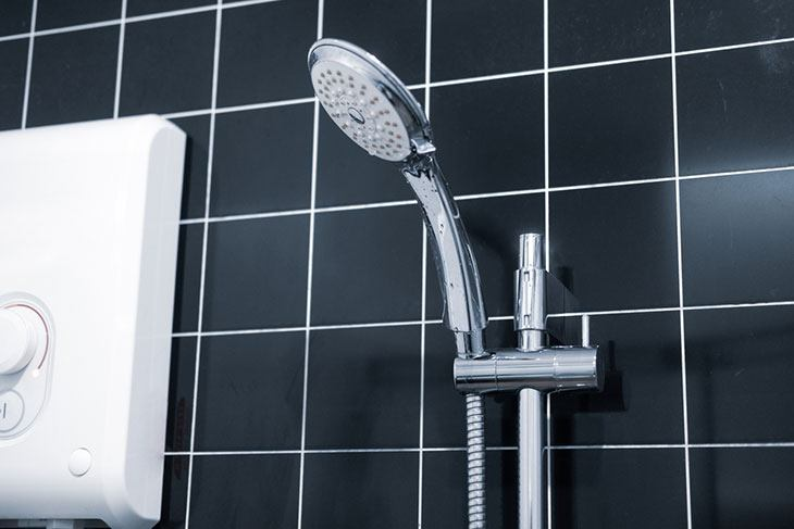 the best electric power shower